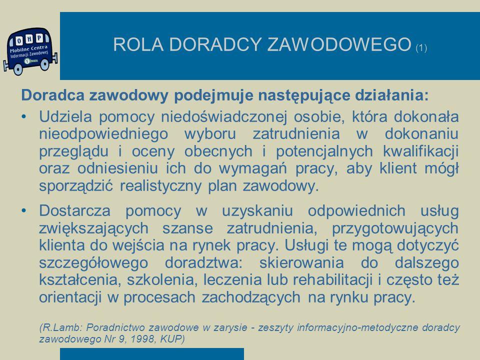 ROLA DORADCY ZAWODOWEGO (1)