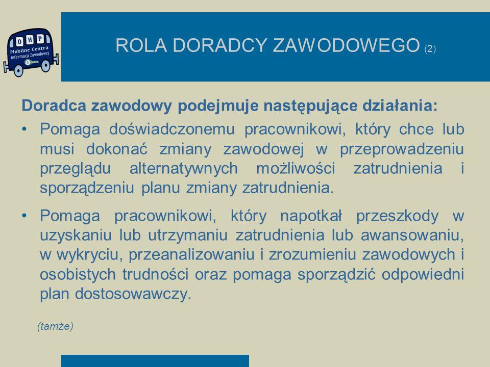 ROLA DORADCY ZAWODOWEGO (2)