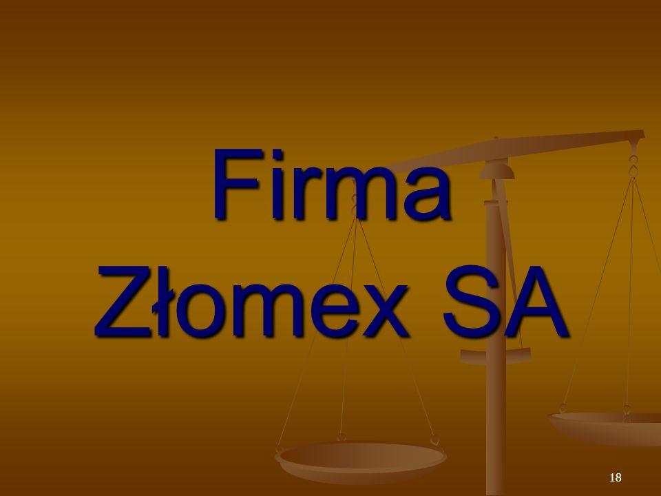 Firma Złomex SA