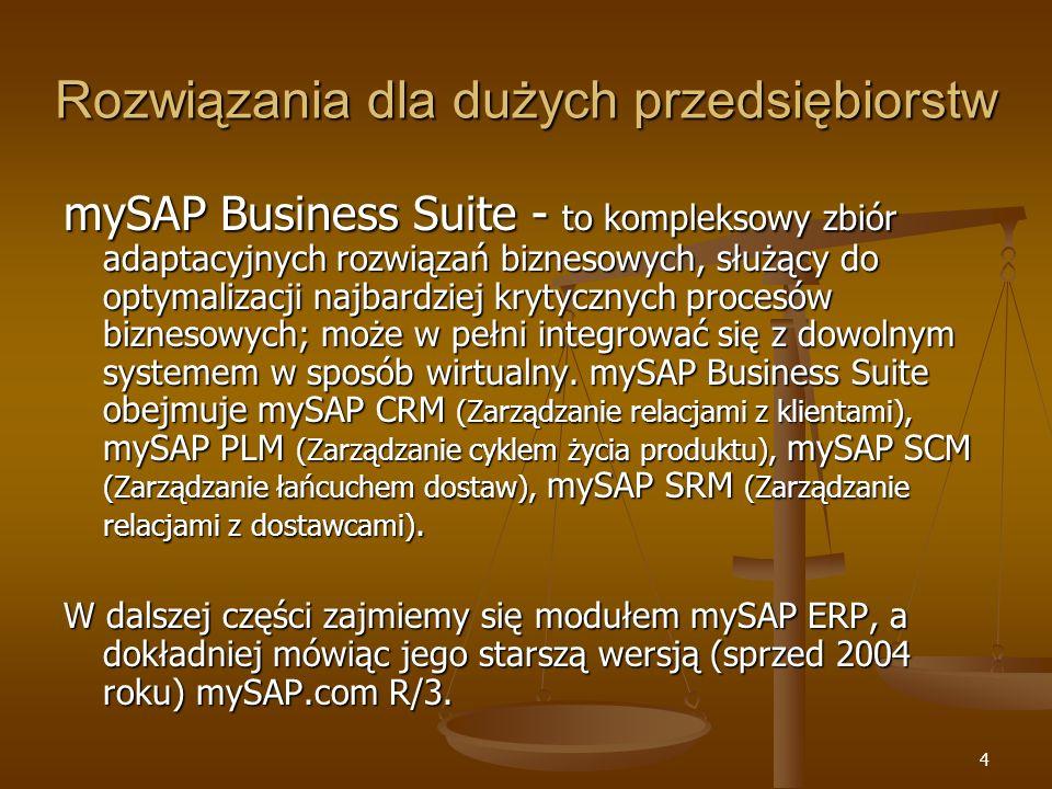 Rozwiązania dla dużych przedsiębiorstw