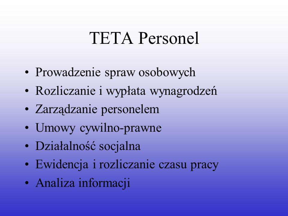 TETA Personel Prowadzenie spraw osobowych