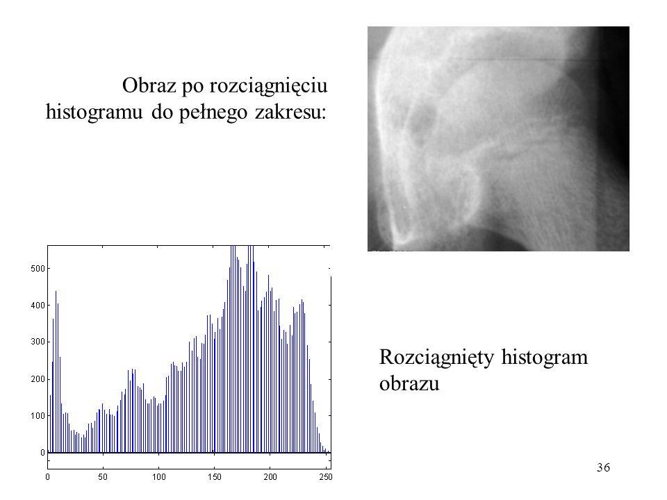 Obraz po rozciągnięciu histogramu do pełnego zakresu: