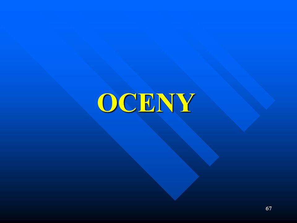OCENY