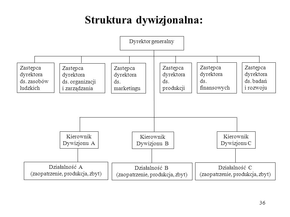 Struktura dywizjonalna: