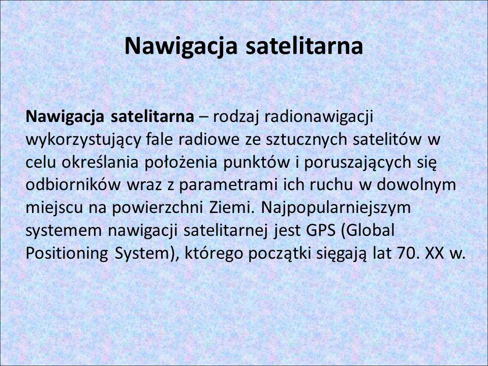 Nawigacja satelitarna