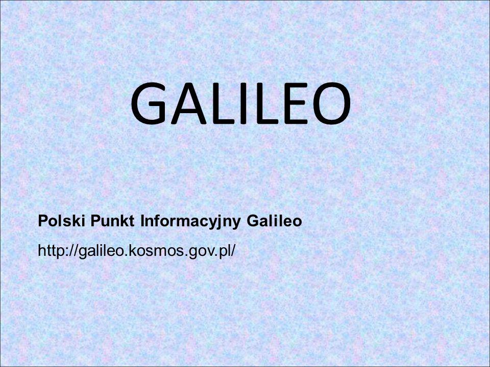 GALILEO Polski Punkt Informacyjny Galileo