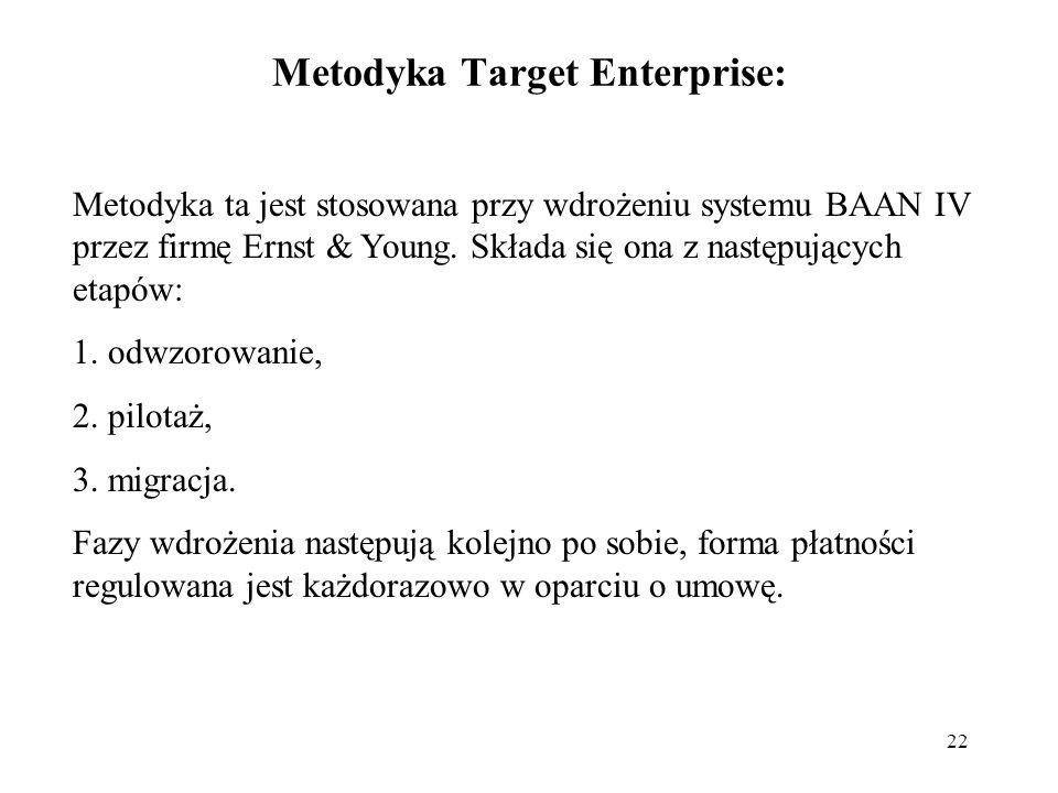 Metodyka Target Enterprise: