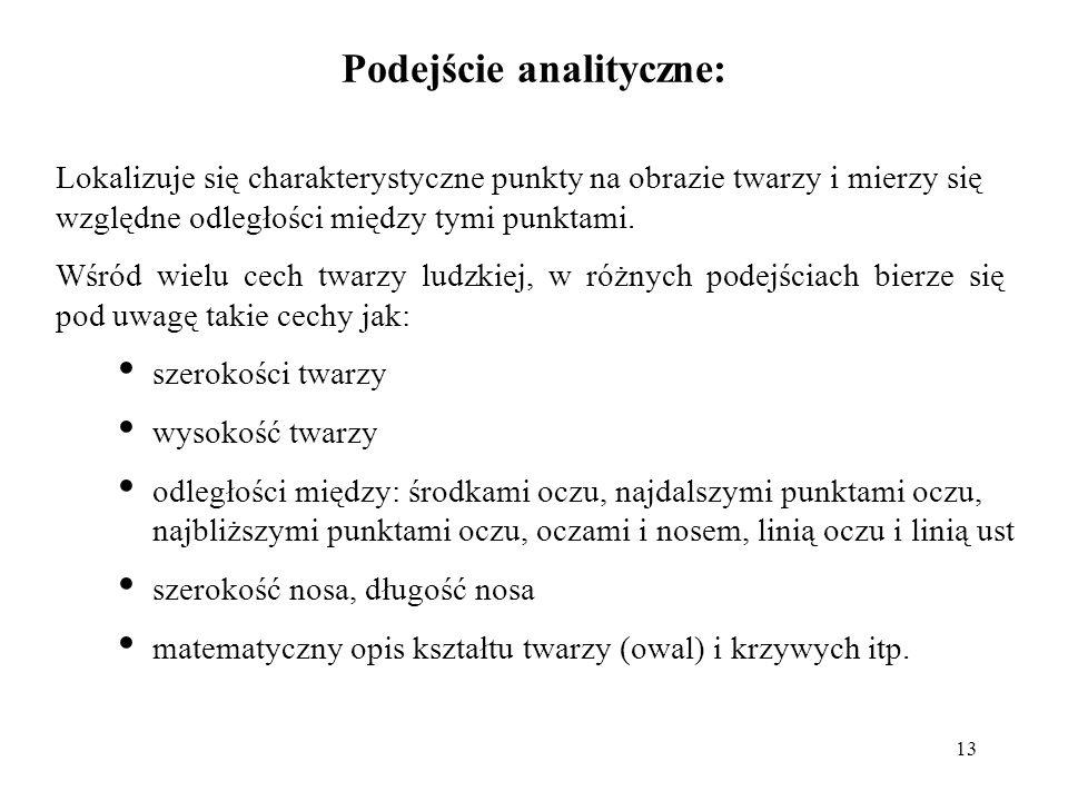 Podejście analityczne:
