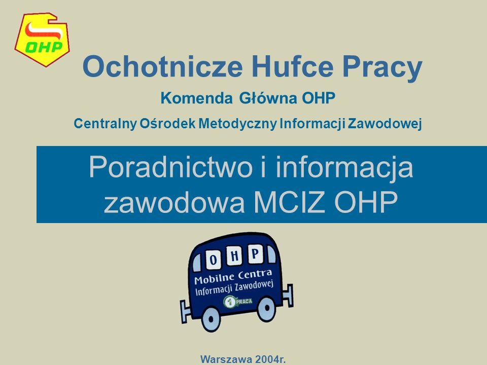 Poradnictwo i informacja zawodowa MCIZ OHP
