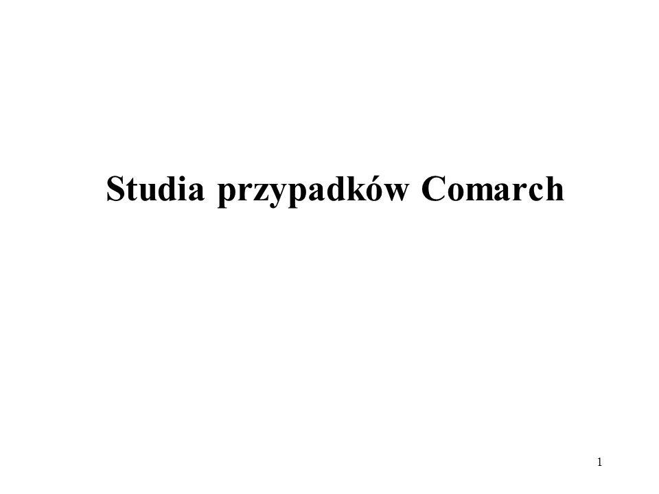 Studia przypadków Comarch