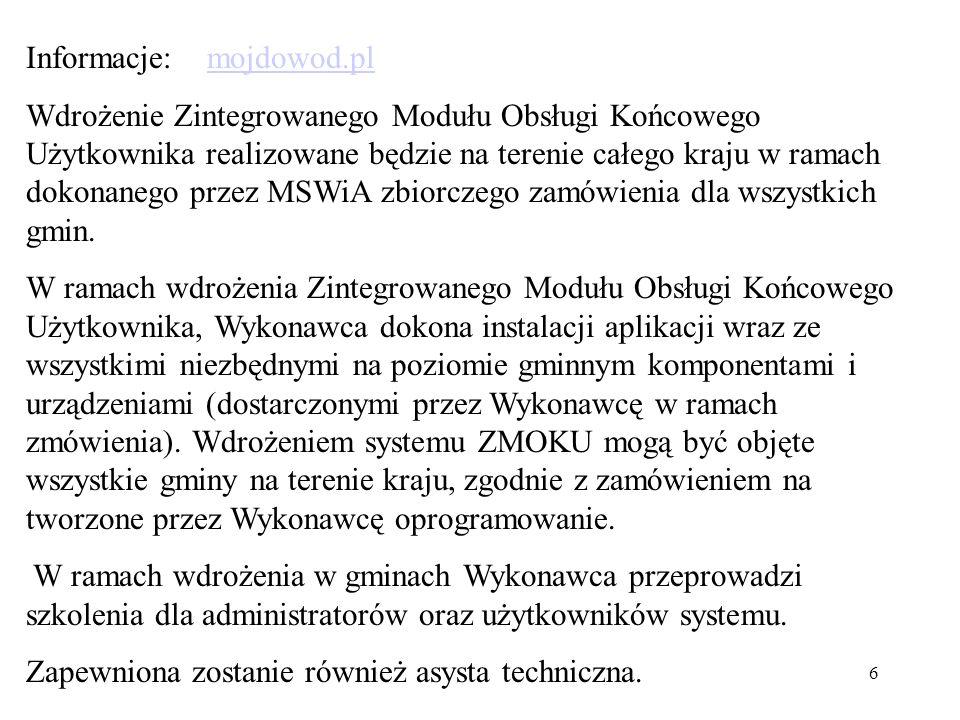 Informacje: mojdowod.pl