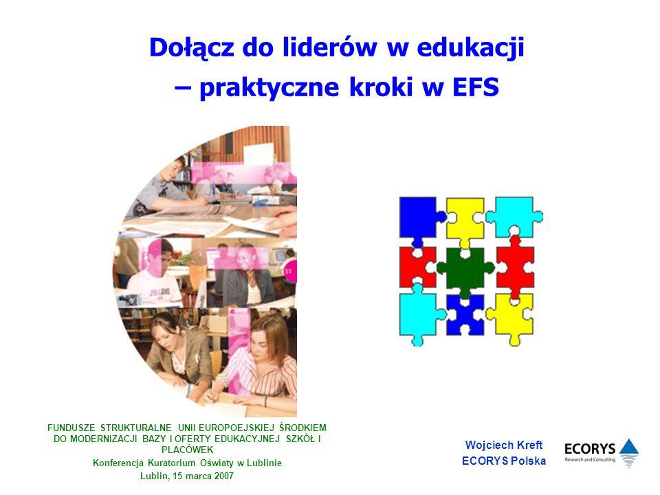 Dołącz do liderów w edukacji – praktyczne kroki w EFS