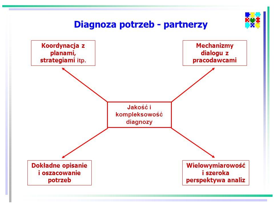 Diagnoza potrzeb - partnerzy
