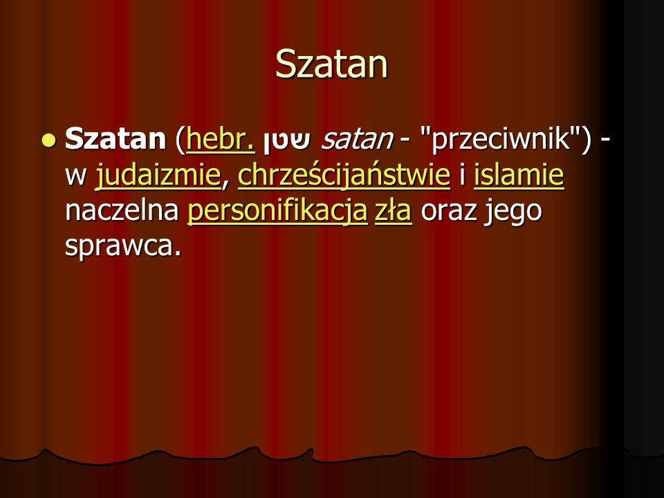 Szatan Szatan (hebr.
