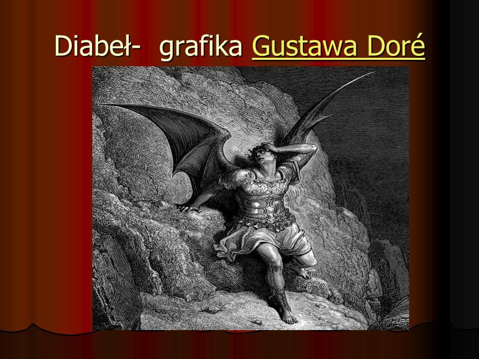 Diabeł- grafika Gustawa Doré