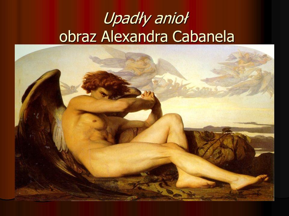 Upadły anioł obraz Alexandra Cabanela