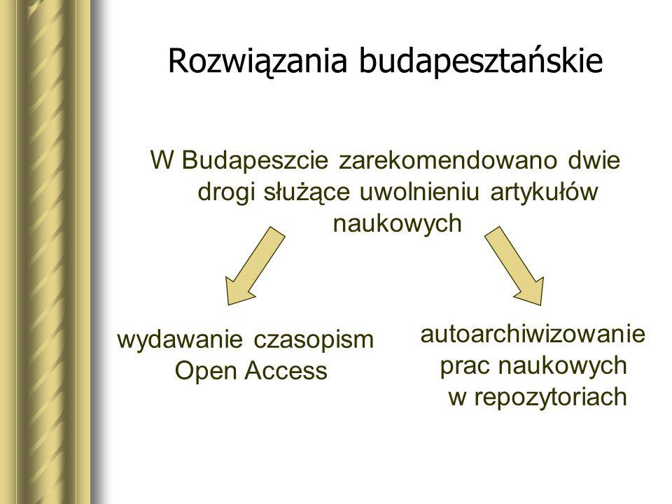 Rozwiązania budapesztańskie