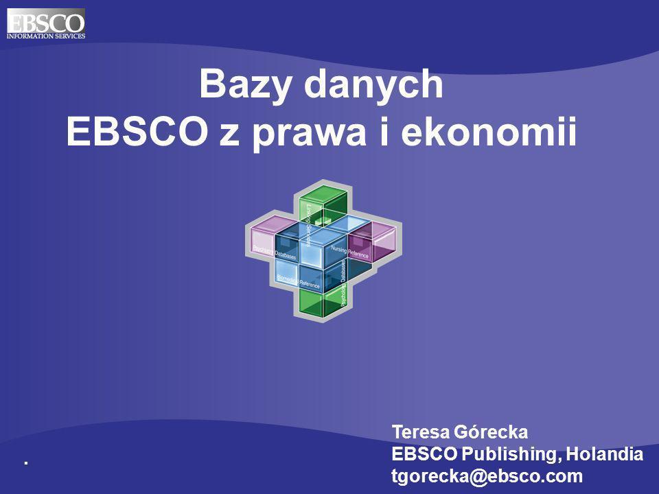 EBSCO z prawa i ekonomii