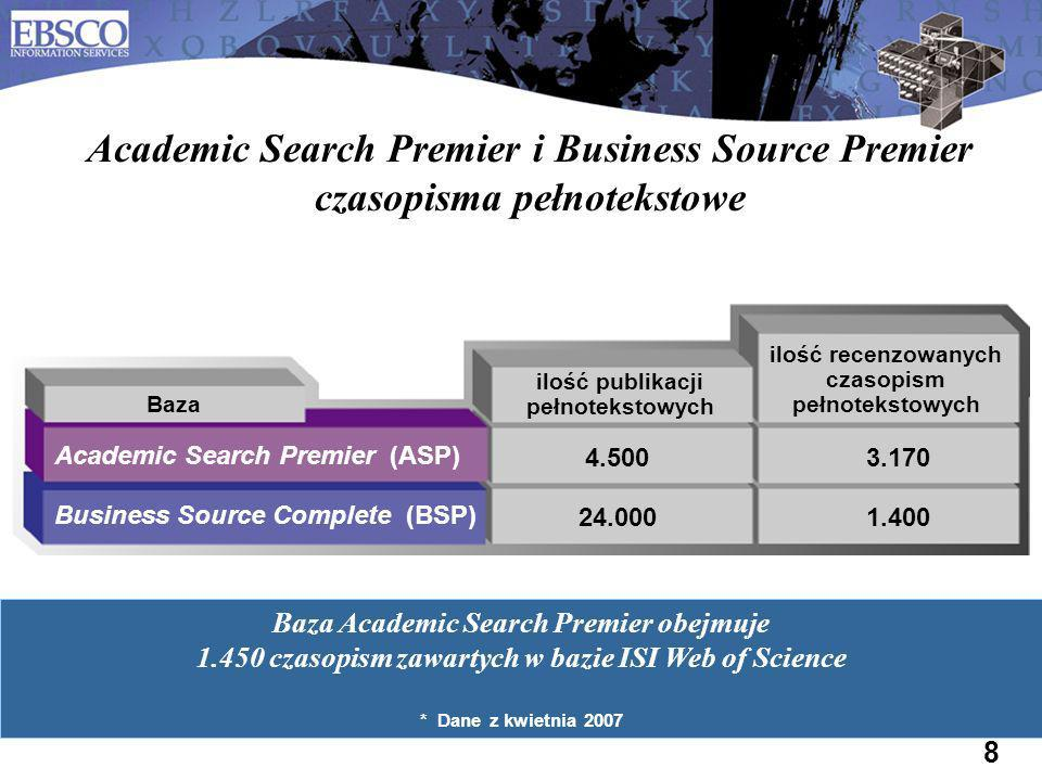 Academic Search Premier i Business Source Premier