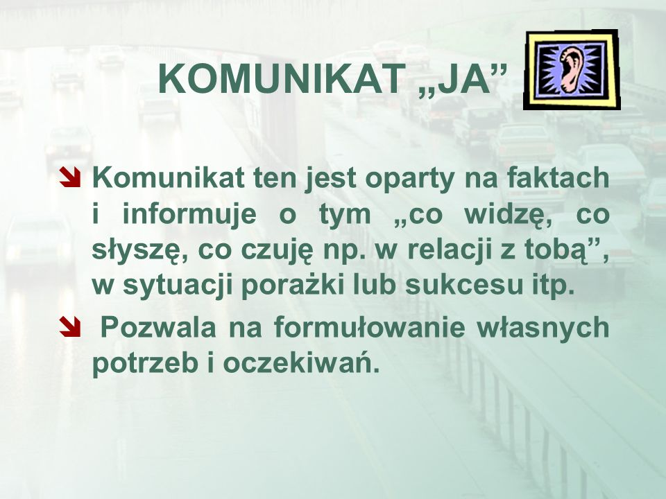 "KOMUNIKAT ""JA"