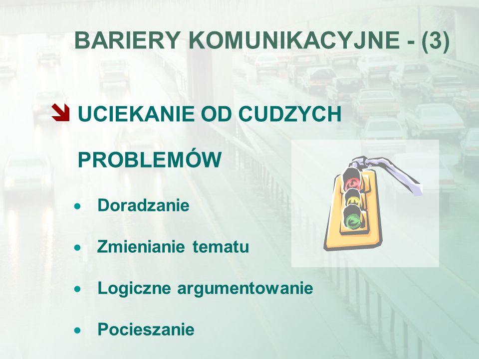 BARIERY KOMUNIKACYJNE - (3)