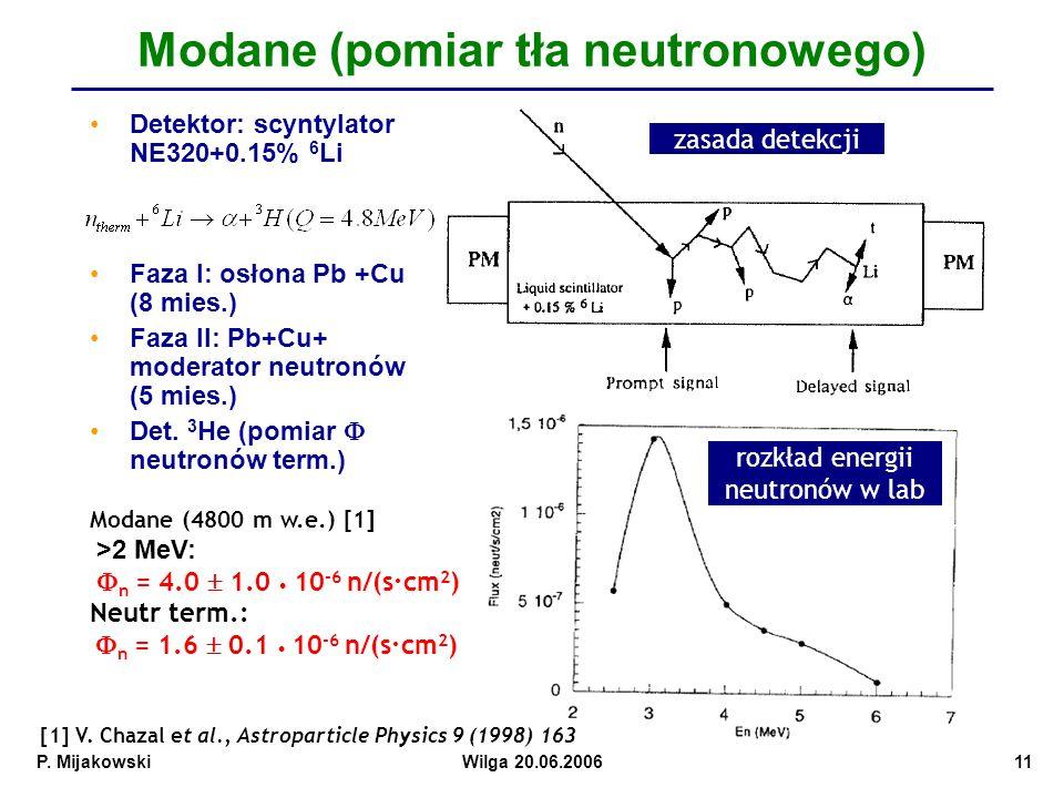 Modane (pomiar tła neutronowego)