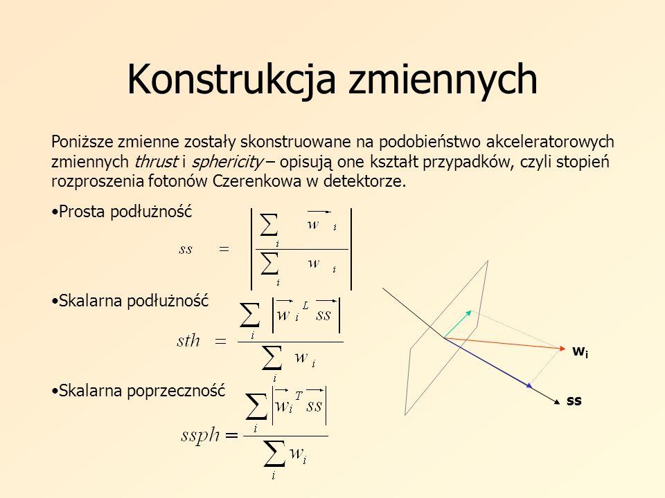 Konstrukcja zmiennych