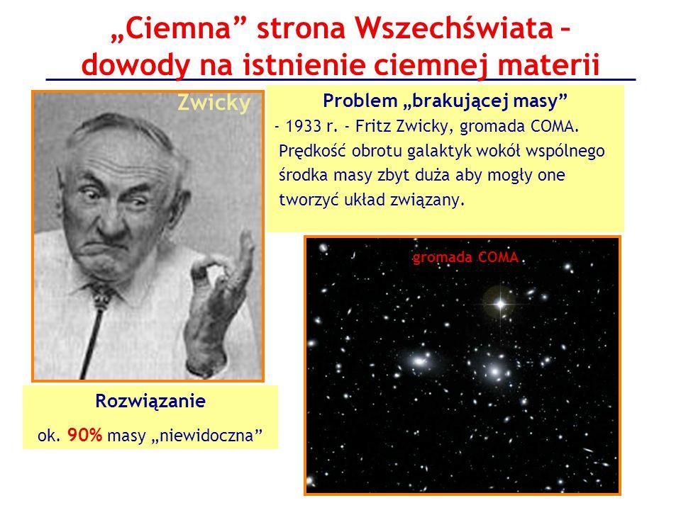 """""""Ciemna strona Wszechświata – dowody na istnienie ciemnej materii"""