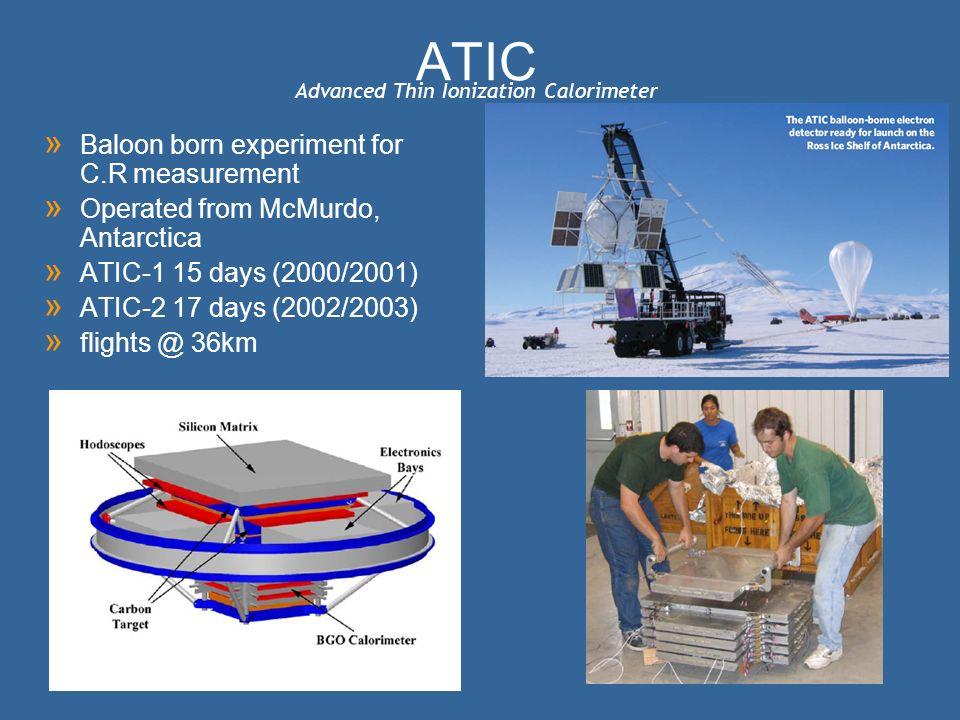 Advanced Thin Ionization Calorimeter