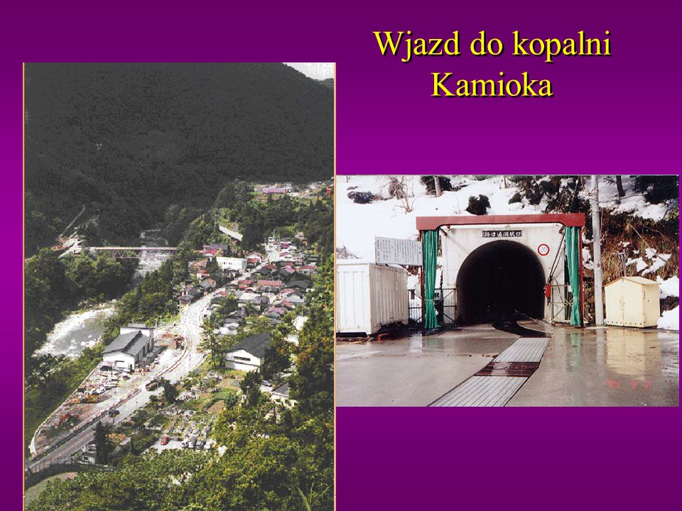 Wjazd do kopalni Kamioka