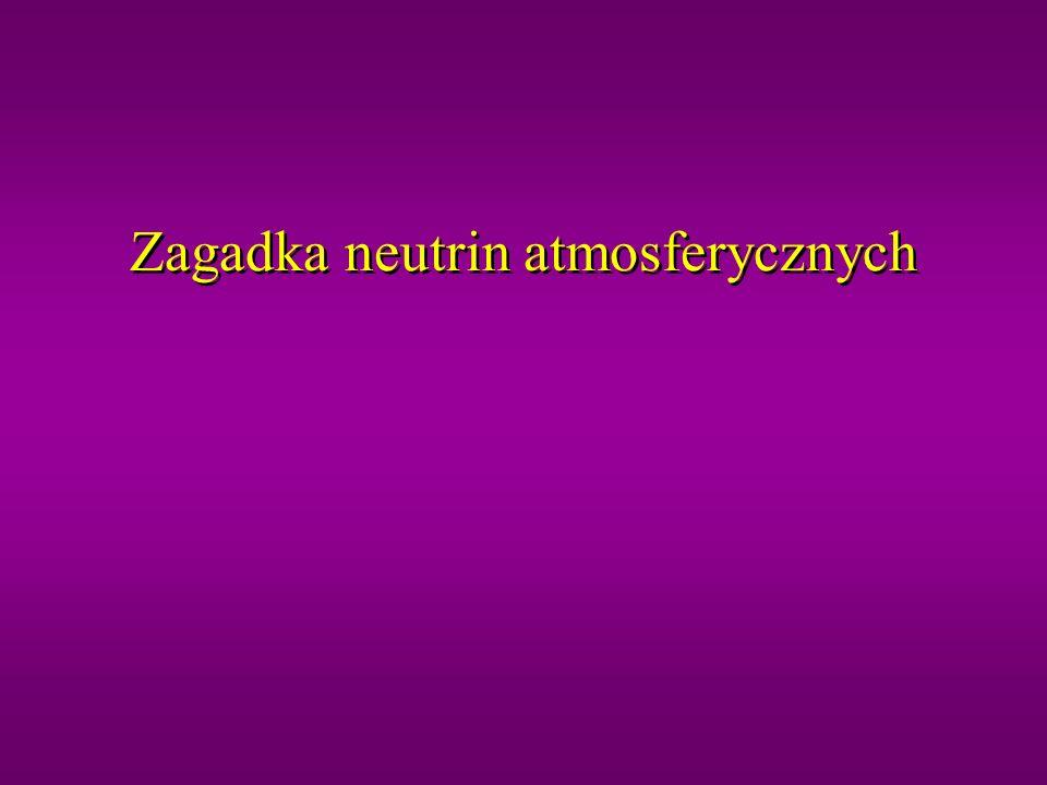Zagadka neutrin atmosferycznych