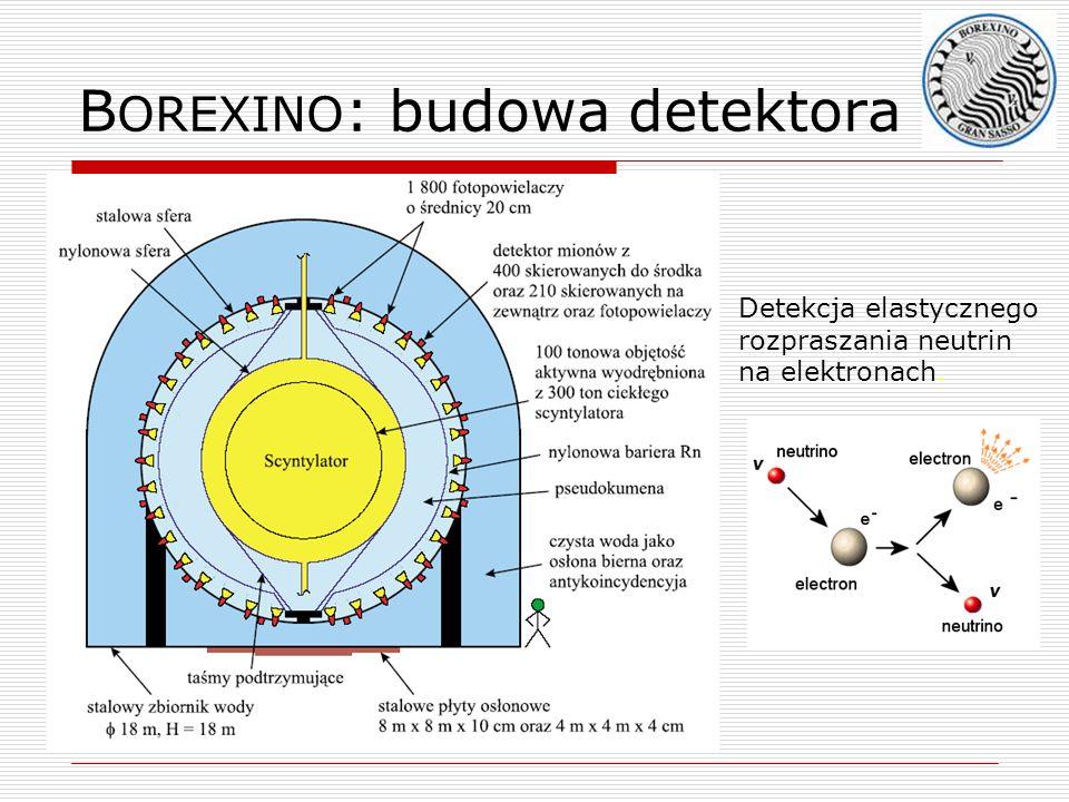 BOREXINO: budowa detektora