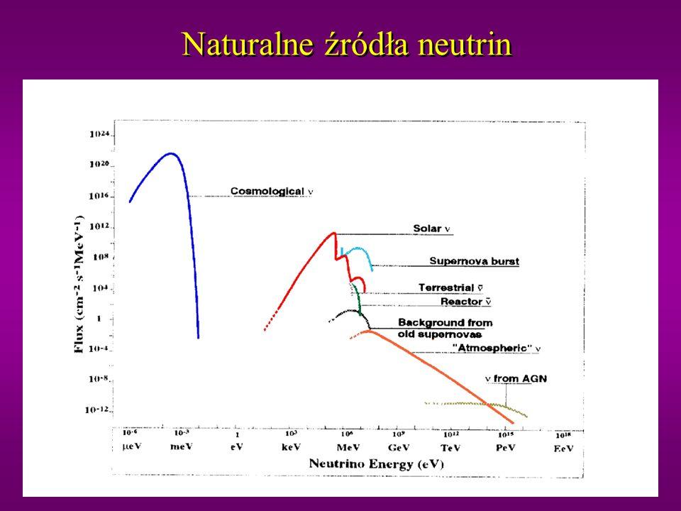 Naturalne źródła neutrin