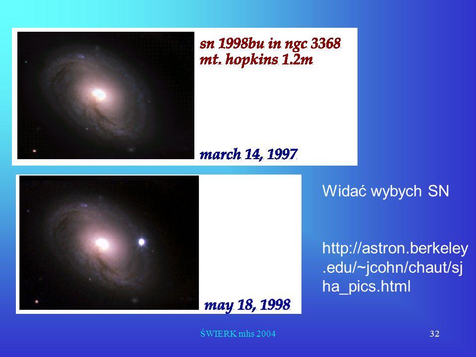 Widać wybych SN http://astron.berkeley.edu/~jcohn/chaut/sjha_pics.html