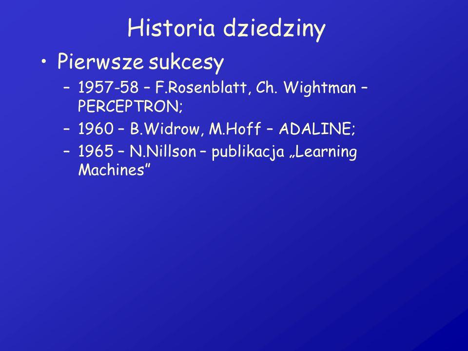 Historia dziedziny Pierwsze sukcesy