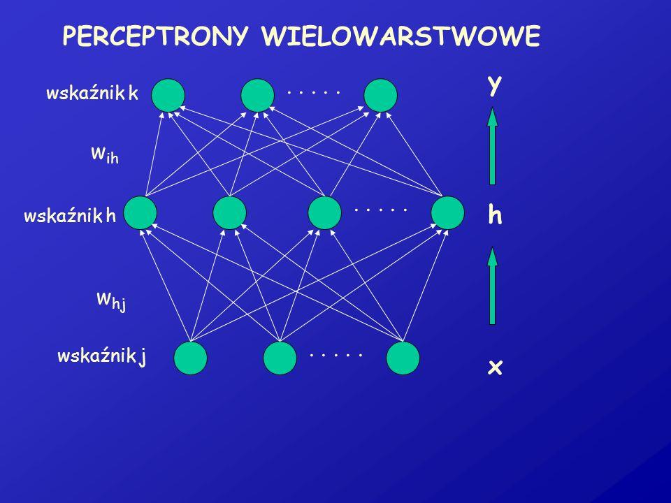 PERCEPTRONY WIELOWARSTWOWE
