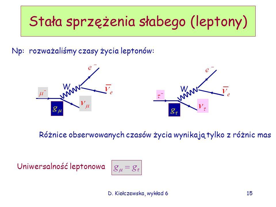 Stała sprzężenia słabego (leptony)