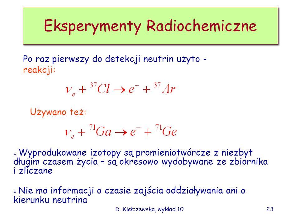 Eksperymenty Radiochemiczne