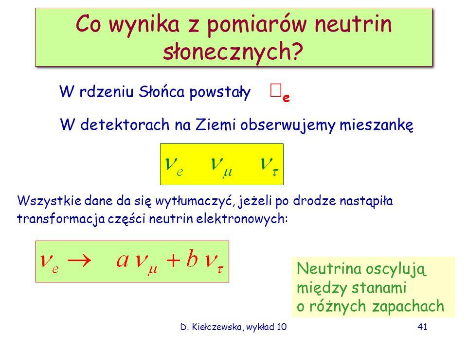 Co wynika z pomiarów neutrin słonecznych