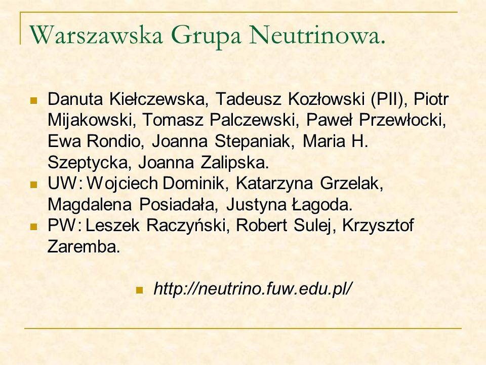 Warszawska Grupa Neutrinowa.