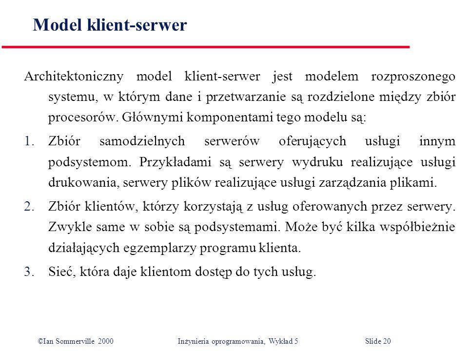 Model klient-serwer
