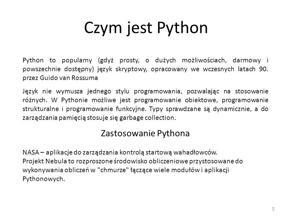 Czym jest Python Zastosowanie Pythona