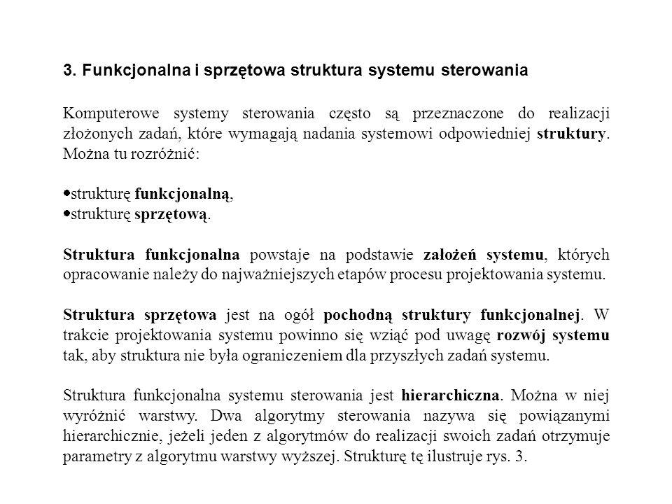 3. Funkcjonalna i sprzętowa struktura systemu sterowania