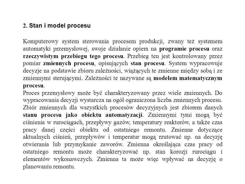 2. Stan i model procesu