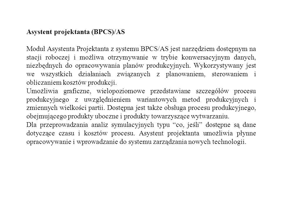 Asystent projektanta (BPCS)/AS