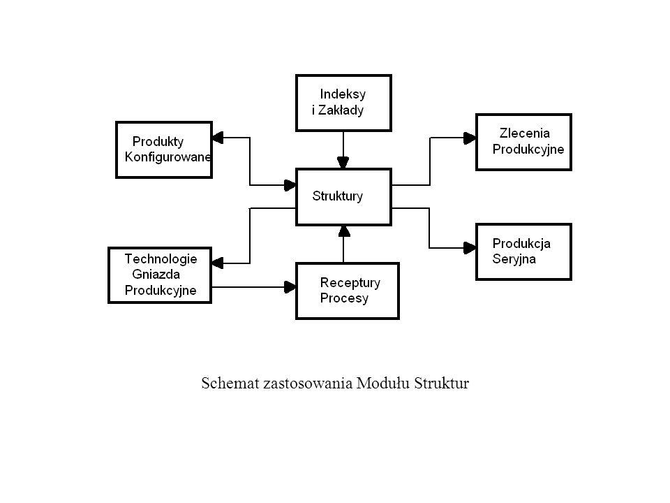 Schemat zastosowania Modułu Struktur