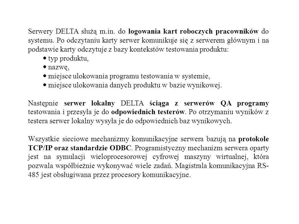 Serwery DELTA służą m. in