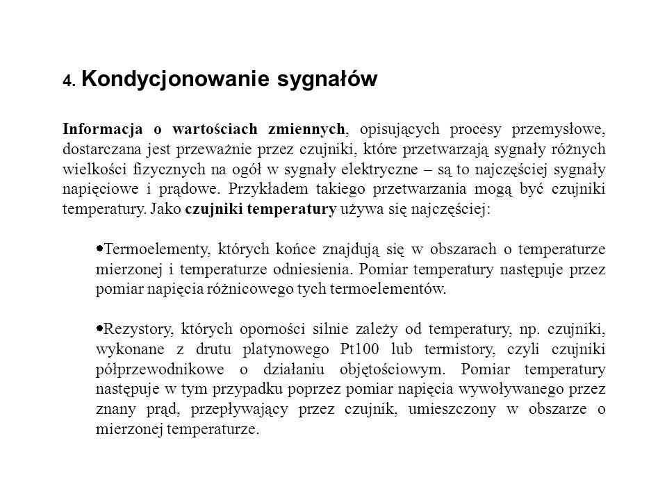 4. Kondycjonowanie sygnałów