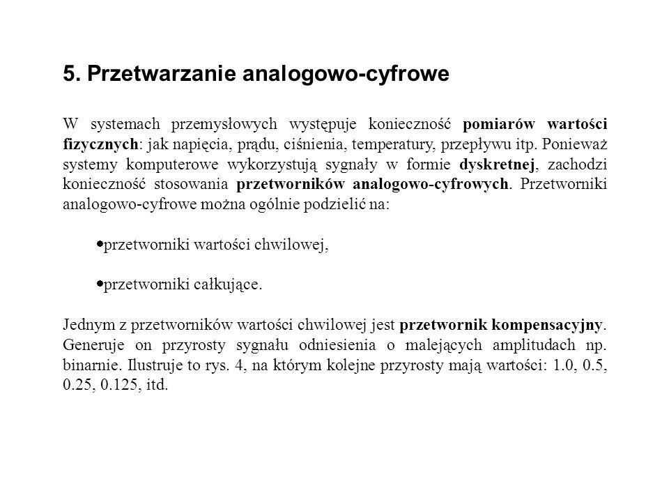 5. Przetwarzanie analogowo-cyfrowe