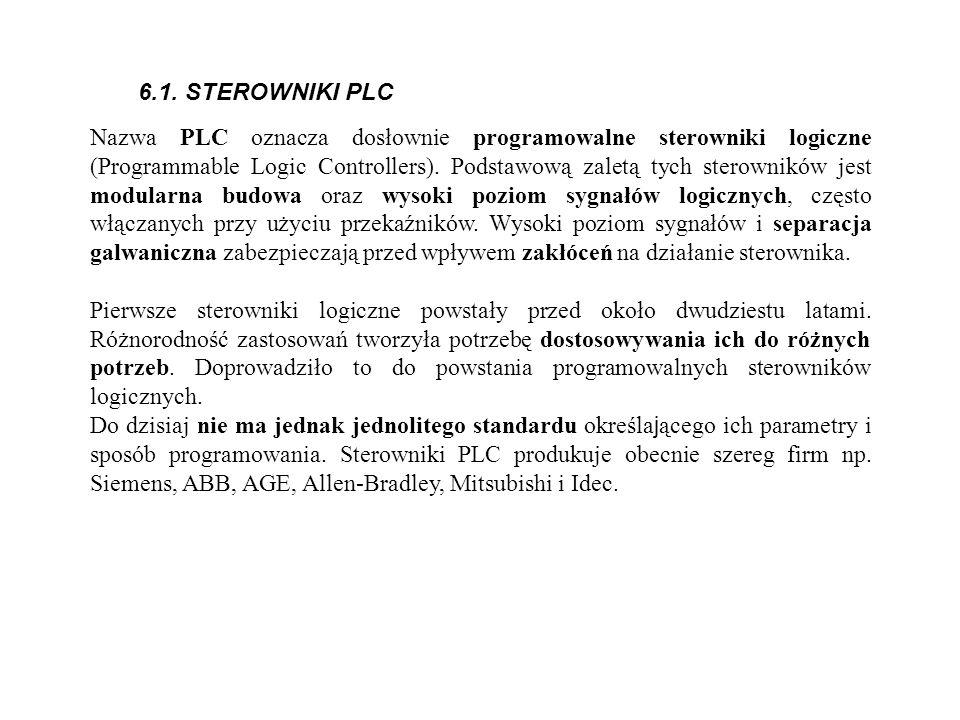 6.1. STEROWNIKI PLC